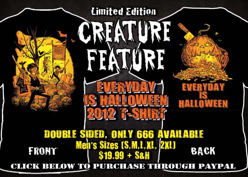 Check Out The Brand New Annual Everyday Is Halloween T-Shirt ...