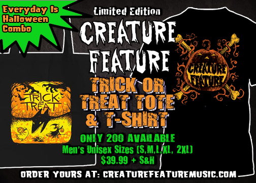 Limited Edition Everyday Is Halloween Trick Or Treat Bag & Shirt ...