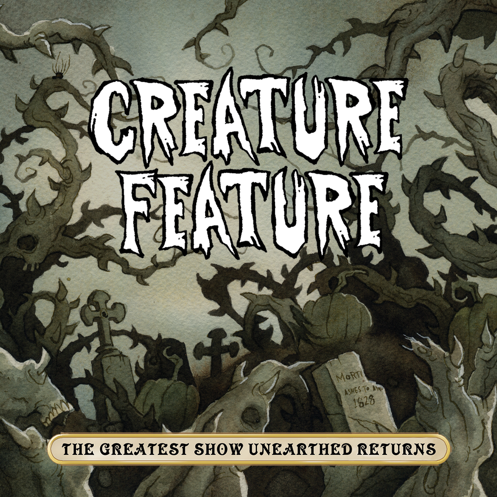 Purchase The New Creature Feature Album 'The Greatest Show Unearthed